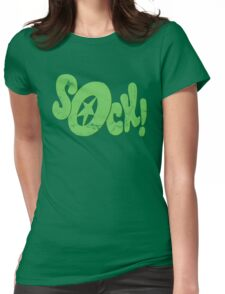 Sock! Womens Fitted T-Shirt