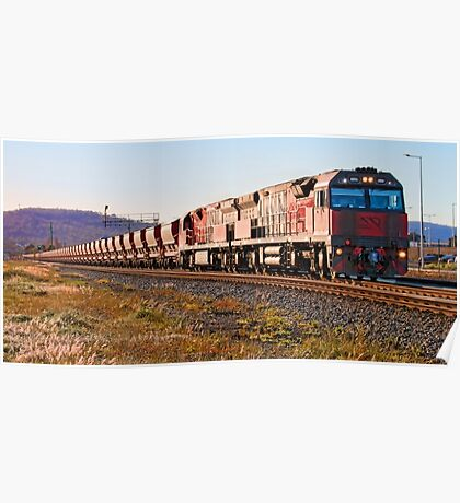 Mineral Resources Limited Iron Ore Train Poster