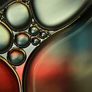 Oil & Water Metalics Collection IV by Sharon Johnstone