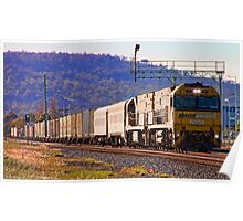 Pacific National Freight Train Poster