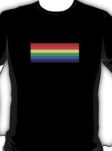 Rainbow Dash Hair Color Stripe T-Shirt