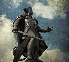 John Barry statue, Wexford, Ireland by buttonpresser