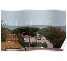Windfarms in Thanet Poster