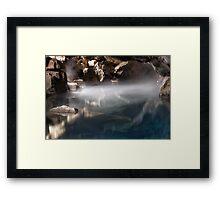 Jon Snow's Cave (But Not Really) Framed Print