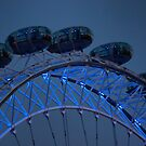 The eye at night by Dean Messenger