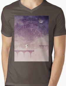 Time Portal Mens V-Neck T-Shirt