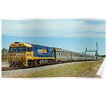 The Indian Pacific Poster
