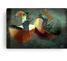 """You think I look silly ...? Man you look Hilarious!"" Canvas Print"
