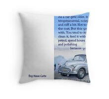 Same for owners wives Throw Pillow