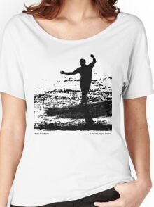 Walk The Plank - Black Women's Relaxed Fit T-Shirt