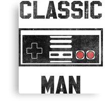 Classic Man (NES) Canvas Print