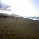 The black beach of Jandia by João Figueiredo