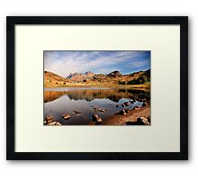Lake District Tarn Framed Print