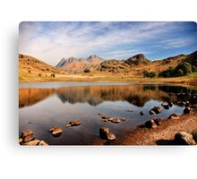 Lake District Tarn Canvas Print