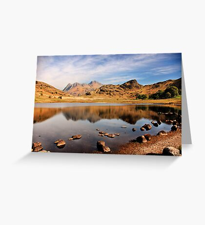 Lake District Tarn Greeting Card