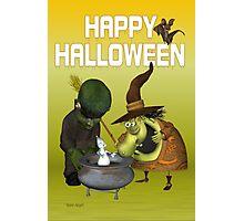 Pot Ghost .. halloween card Photographic Print