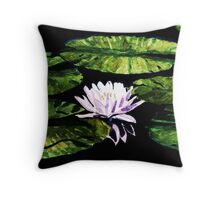 Still Water Beauty Throw Pillow