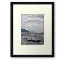 Yacht on Loch Ness Framed Print