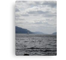 Yacht on Loch Ness Canvas Print