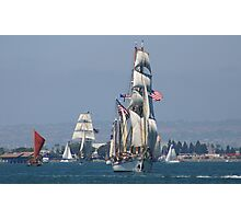 PARADE OF SHIPS Photographic Print