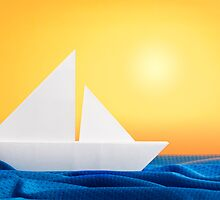 Origami summer by eliaskordelakos