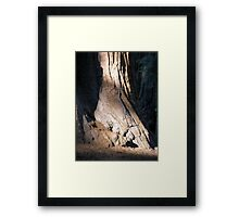 Strong Base Framed Print