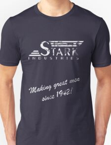 Stark Industries - Old Logo and Slogan Unisex T-Shirt