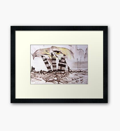 9/11 In God We Trust Framed Print