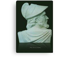 Greek Bust Canvas Print