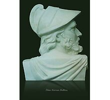 Greek Bust Photographic Print