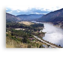 Columbia River at Trail Canvas Print