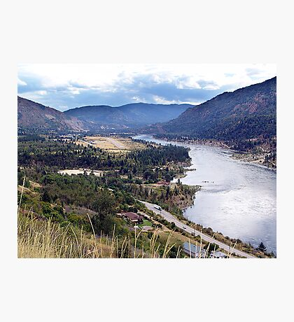 Columbia River at Trail Photographic Print