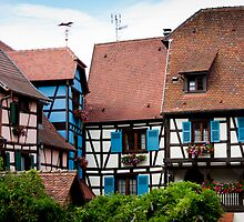 Eguisheim The Beautiful 3 by Jacinthe Brault