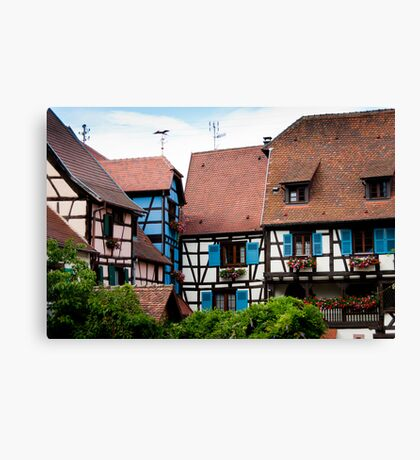 Eguisheim The Beautiful 3 Canvas Print