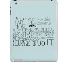 Arise! Do it! iPad Case/Skin