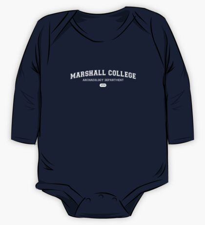 Marshall College Archaeology Department One Piece - Long Sleeve