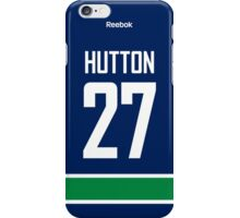 Vancouver Canucks Ben Hutton Jersey Back Phone Case iPhone Case/Skin