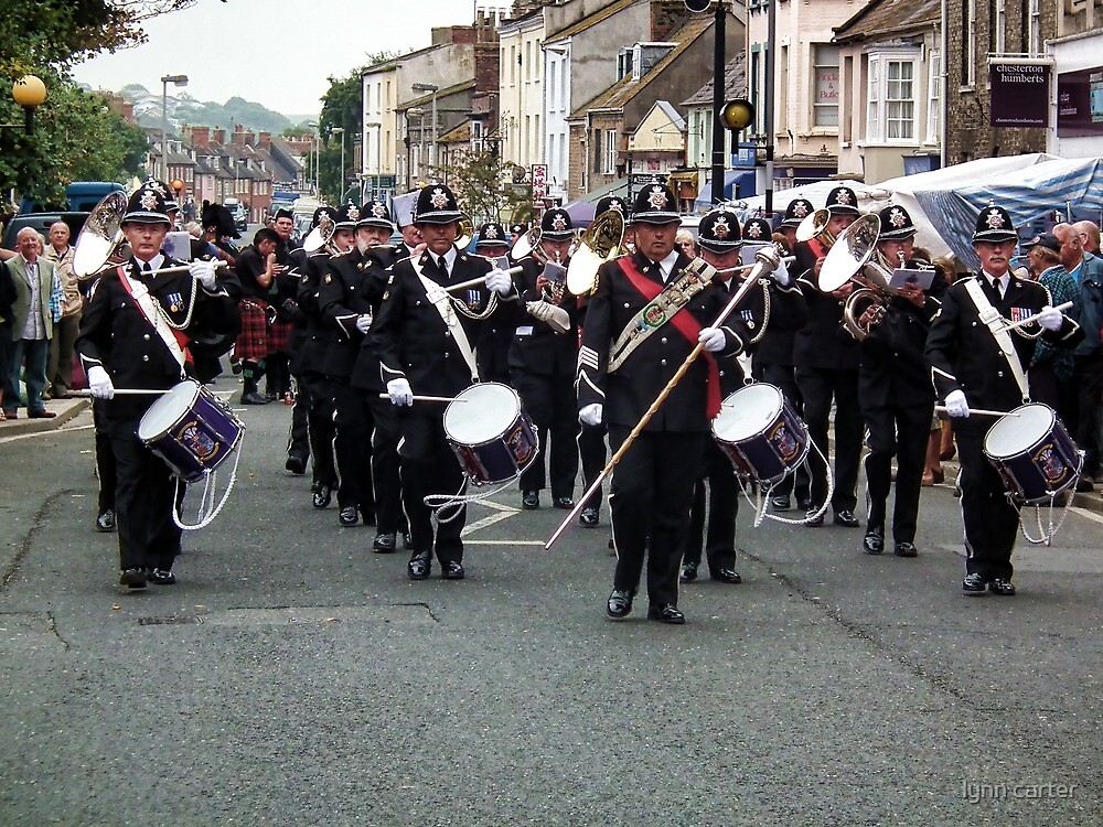 South Wales Police Band by lynn carter