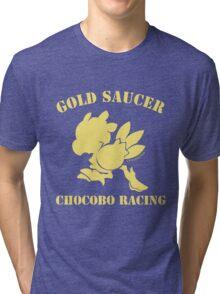 Gold Saucer Chocobo Racing Tri-blend T-Shirt