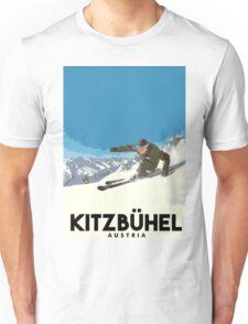 Ski Kitzbühel Austria Unisex T-Shirt