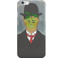 rene apple iPhone Case/Skin
