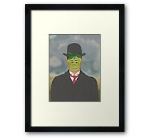 rene apple Framed Print