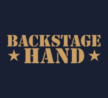 BACKSTAGE hand Theater helper by jazzydevil