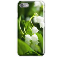 Lily of the valley flower iPhone Case/Skin