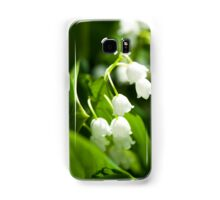 Lily of the valley flower Samsung Galaxy Case/Skin