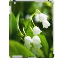 Lily of the valley flower iPad Case/Skin