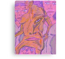 authorative figure Canvas Print