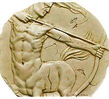 Centaur the archer (sagittarius) by John Darren Sutton