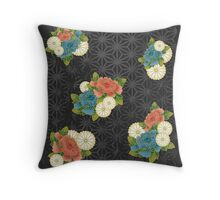 Asanoha pattern Throw Pillow