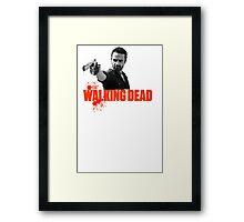 if you walking Dead Framed Print
